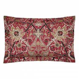 William Morris Bullerswood Oxford Pillowcase Paprika