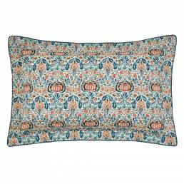 William Morris Little Chintz Oxford Pillowcase Teal