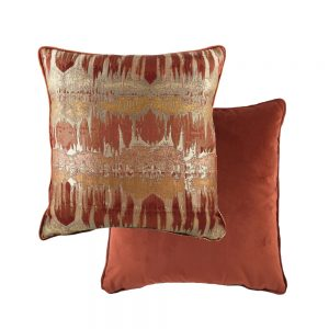 Inca 43cm Terracotta Cushion
