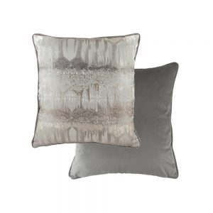 Inca 43cm Steel Grey Cushion