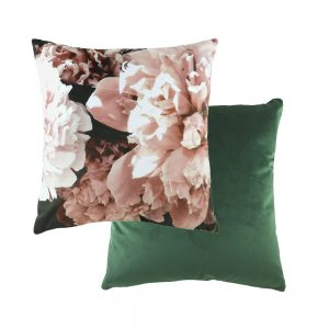 Photo Florals 43cm Powder Pink Cushion