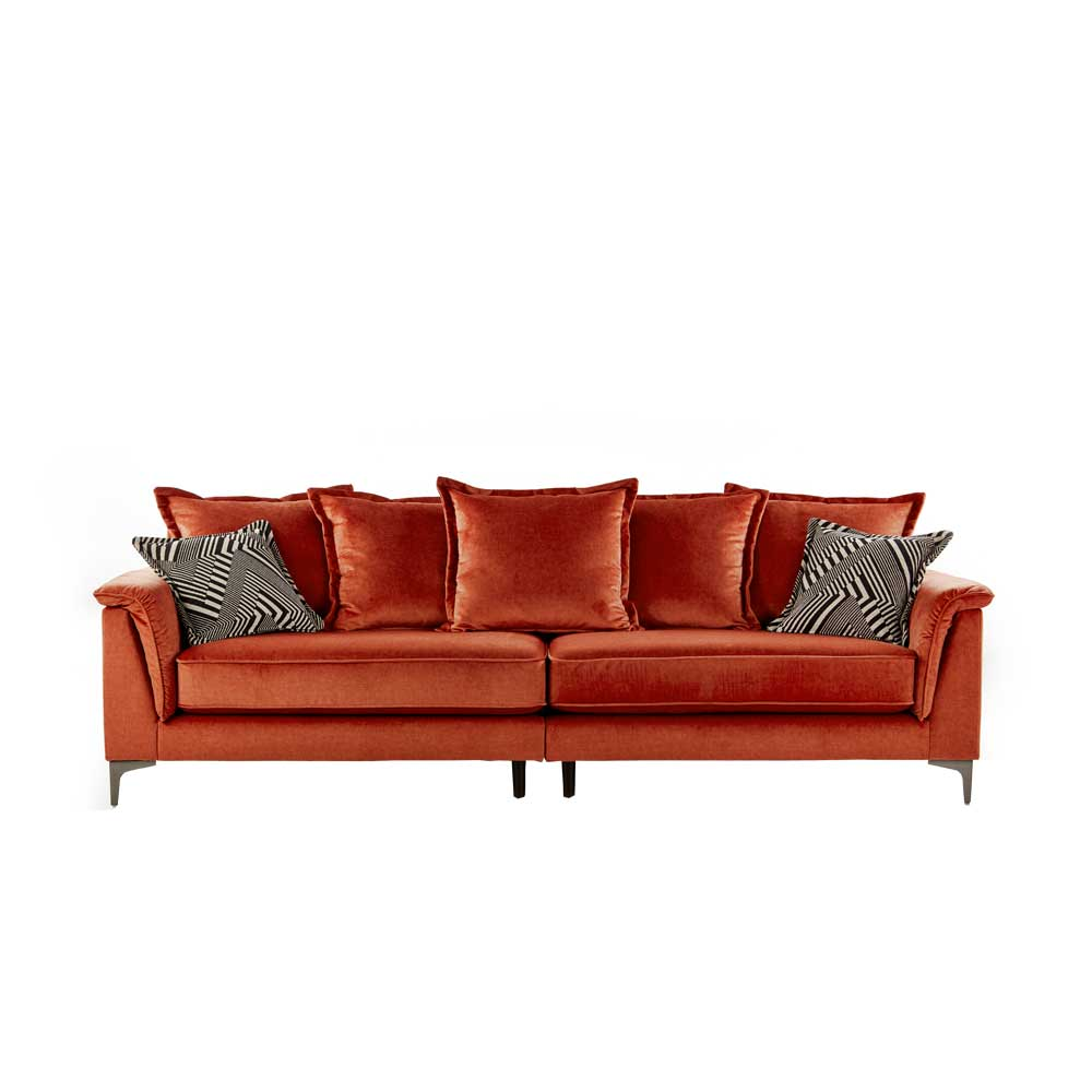 TAPAS 4 STR (Split 2 Pce) PILLOWBACK SOFA/FABRIC DELUXE