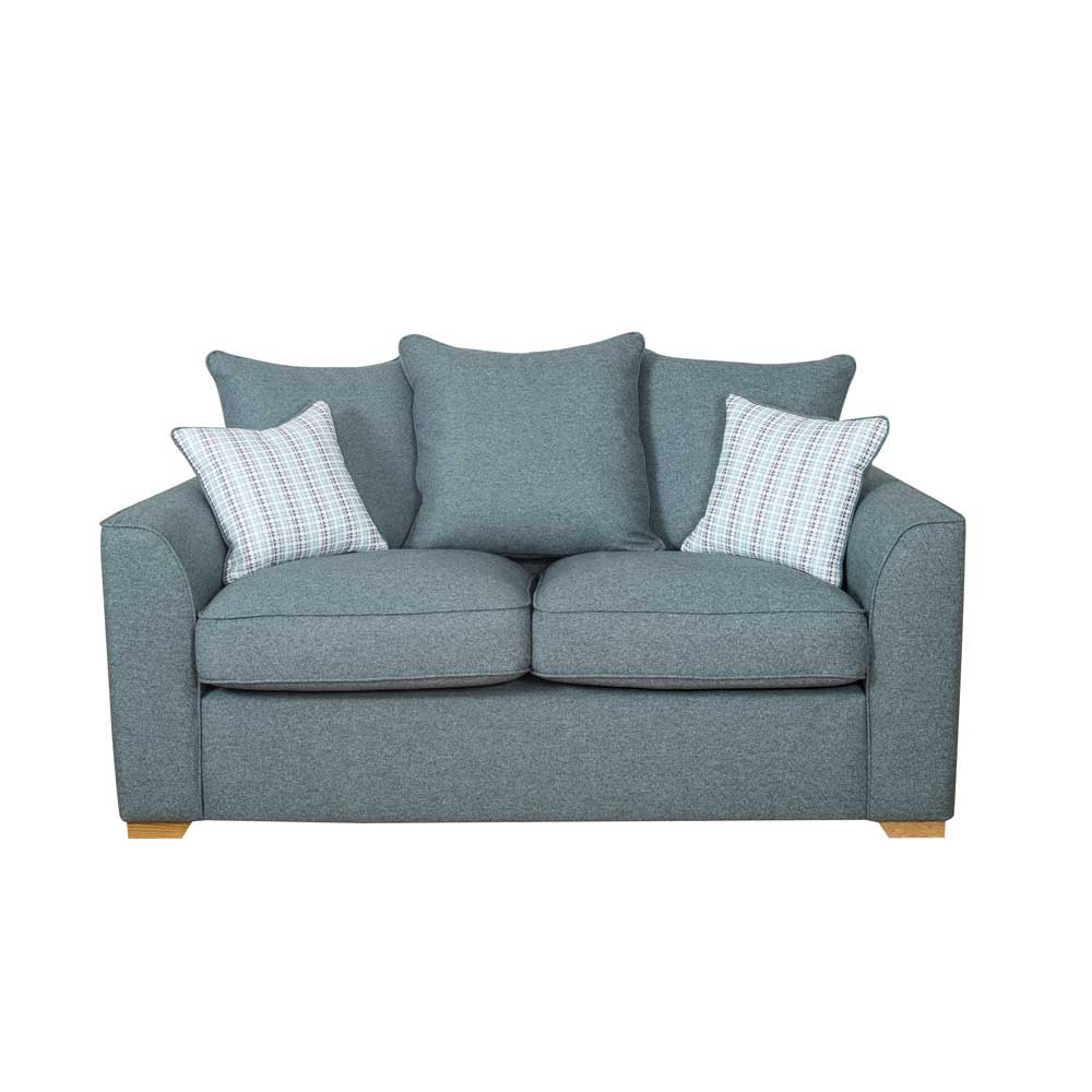 ELLA 2 SEATER SOFA (2ST) PILLOW BACK - FABRIC (A)