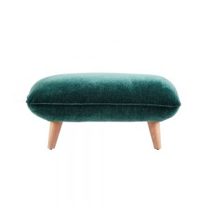 TAYLOR CUSHION TOP FOOTSTOOL / FABRIC B