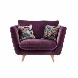 TAYLOR SNUGGLER CHAIR / VELLUTO FABRIC