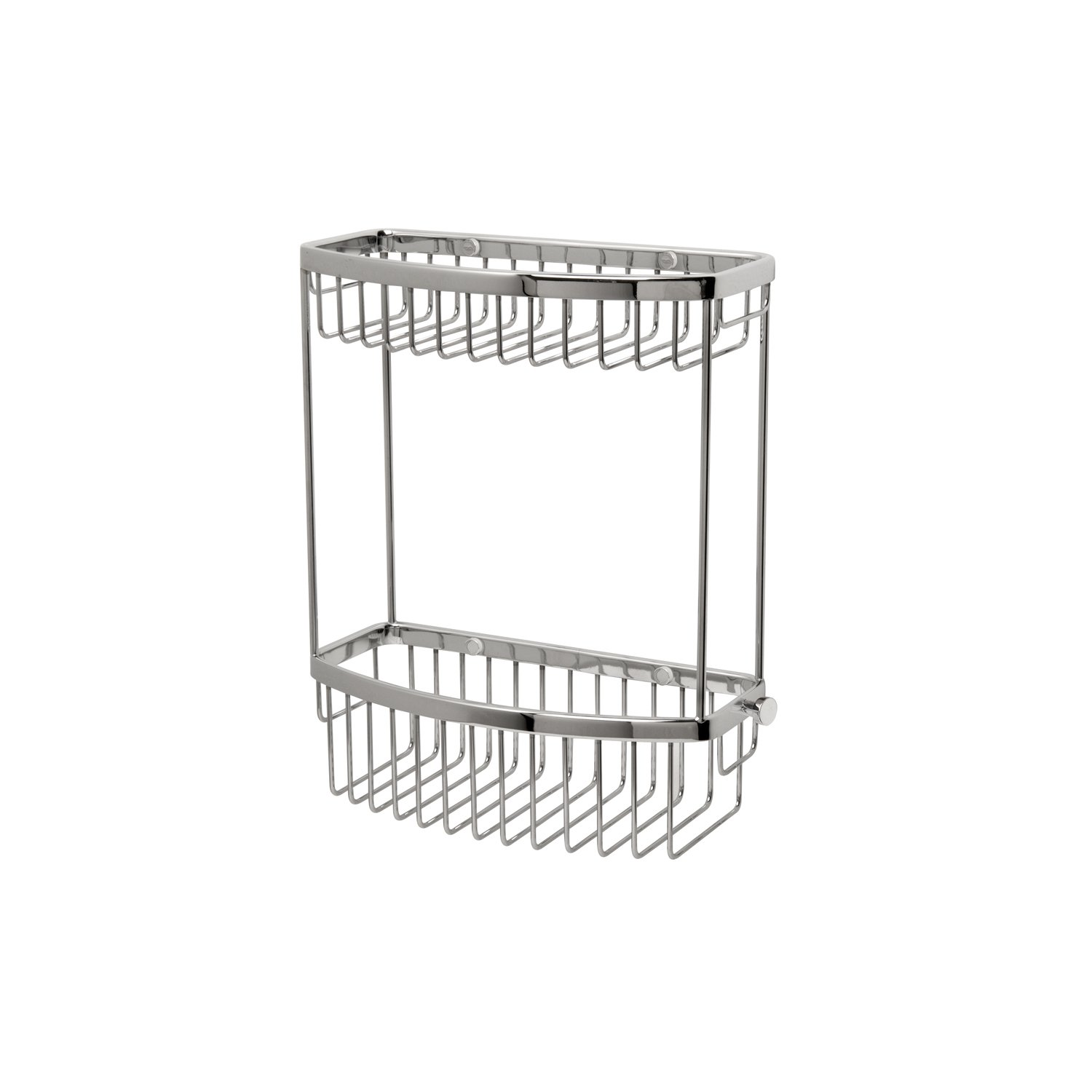 Classic Two Tier D-Shaped Basket