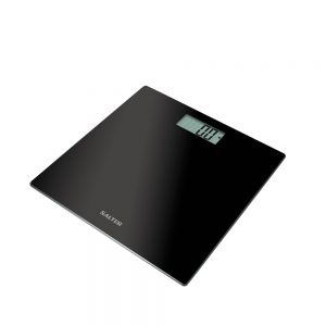 Ultra Slim Electronic Scale Black
