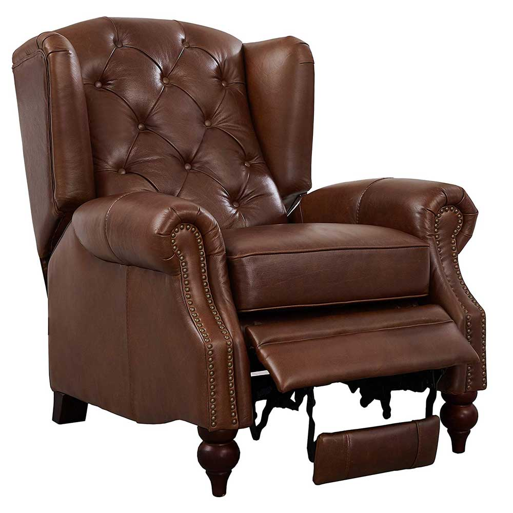 Buckingham Push Back Wing Chair
