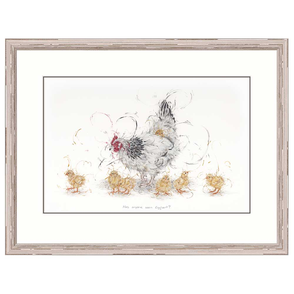 Aaminah Snowdon - Has Anyone Seen Eggbert - Limited Edition Print