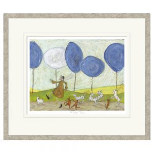 Sam Toft - Its Lilac Time - Limited Edition Print