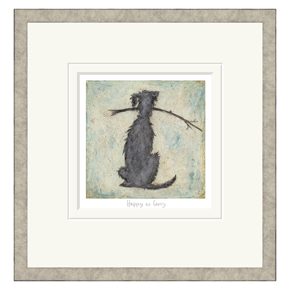 Sam Toft - Happy As Larry  - Limited Edition Print
