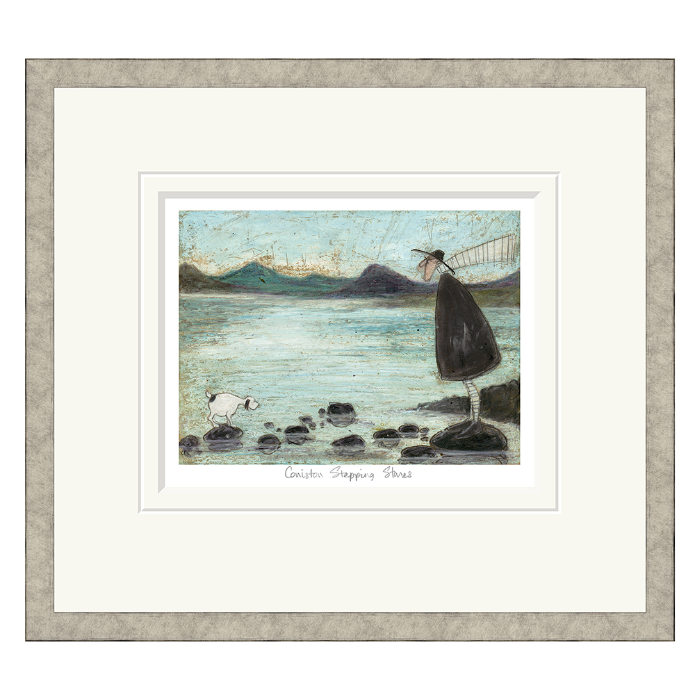 Sam Toft - Coniston Stepping Stones - Limited Edition Print