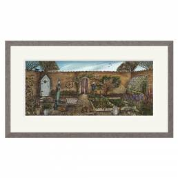 Joe Ramm - The Walled Garden - Limited Edition Print