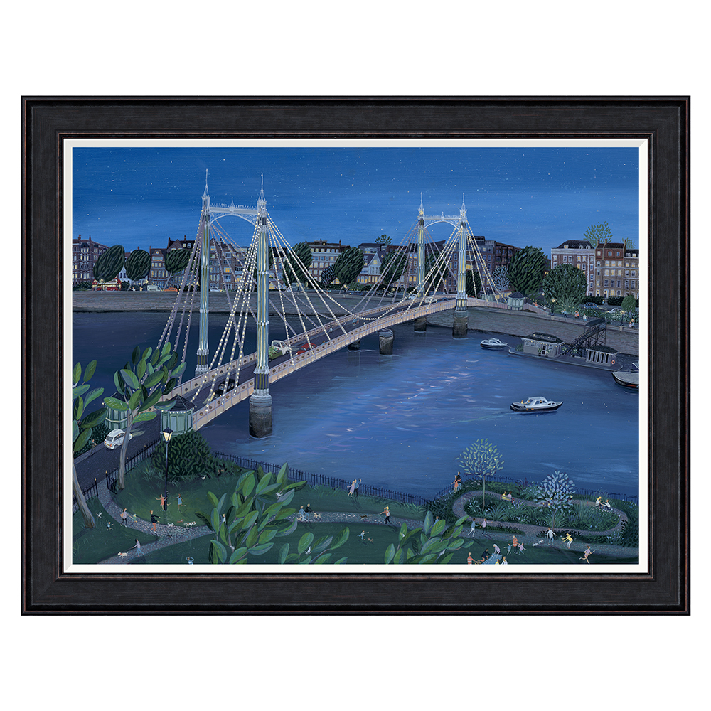 Jenni Murphy - Albert Bridge - Limited Edition Print