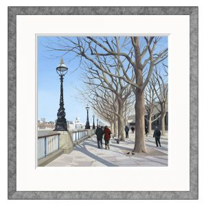 Jo Qigley - Embankment - Limited Edition Print