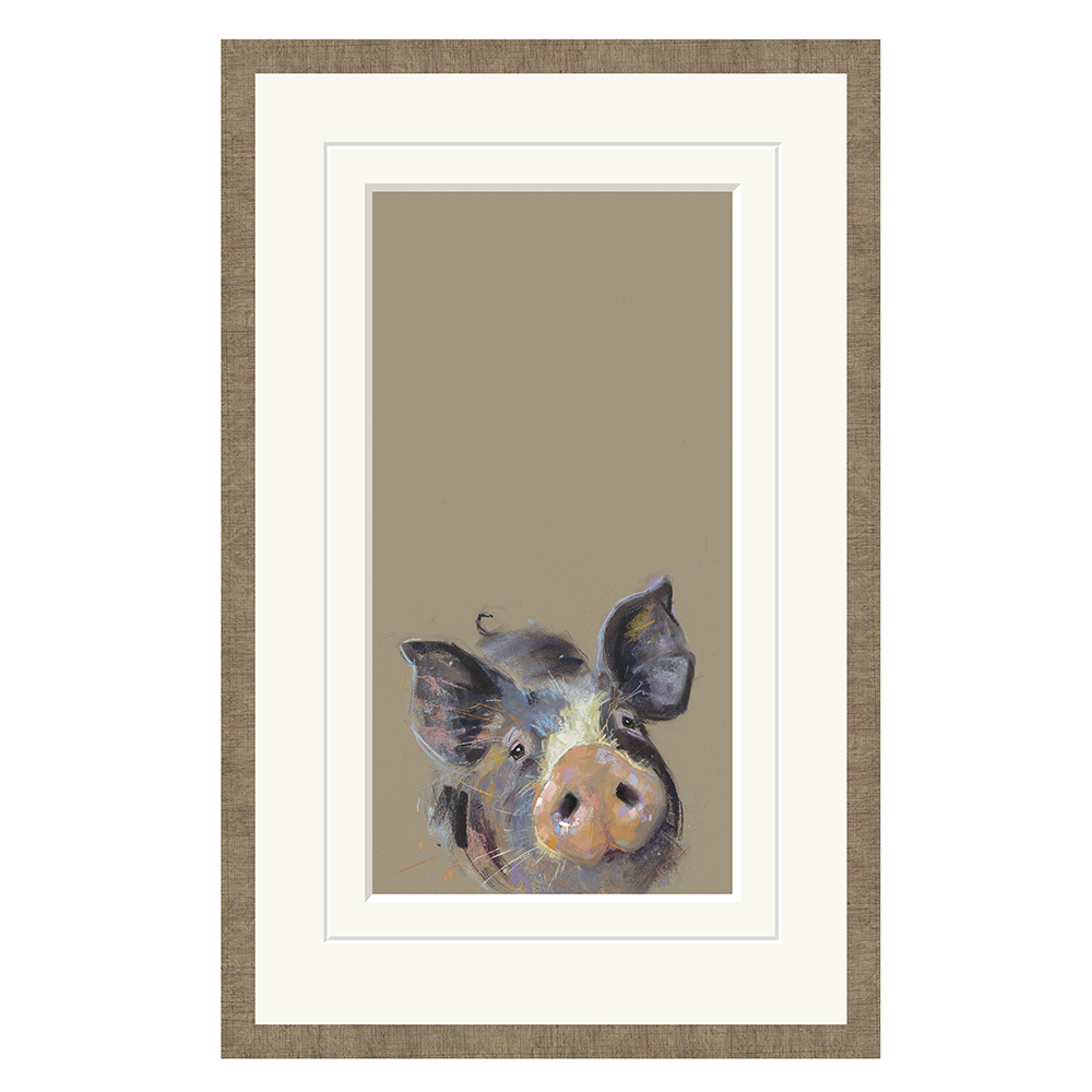 Nicky Litchfield - Happy Hoglet - Limited Edition Print