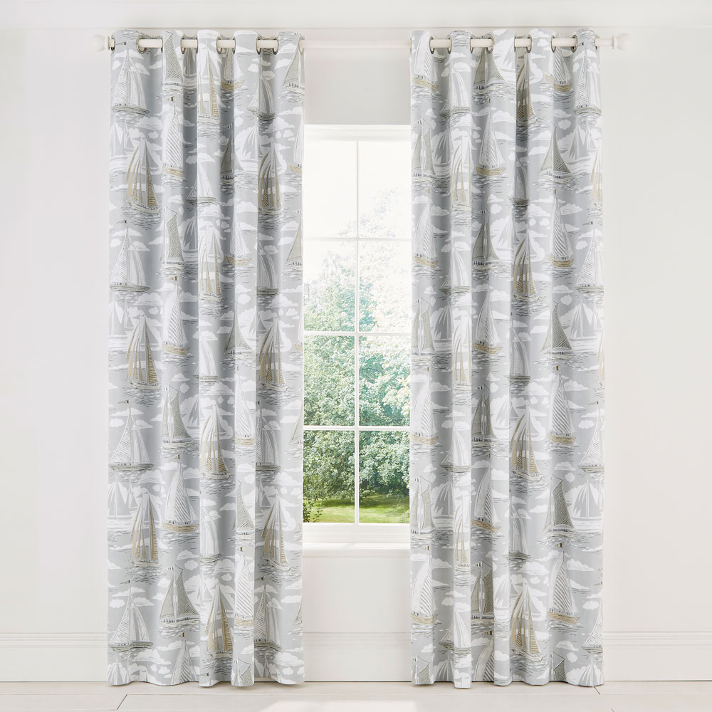 Sailor Lined Curtains