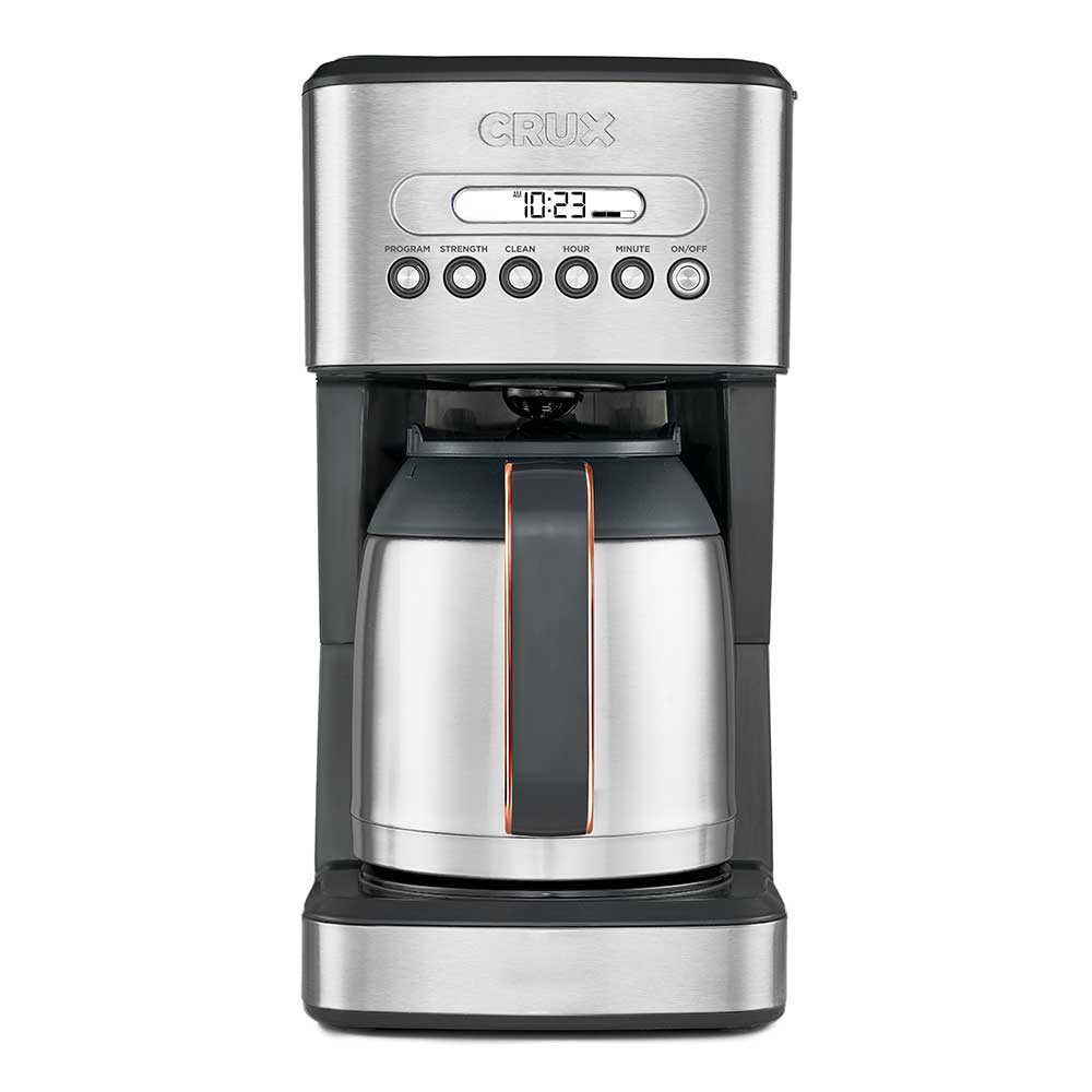 Crux Programmable 10 Cup Coffee Maker