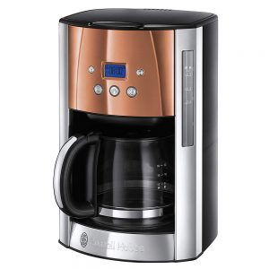 Russell Hobbs Luna Filter Coffee Machine Copper