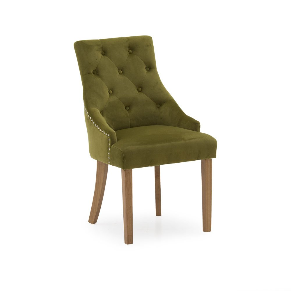 Hera Dining Chair Moss
