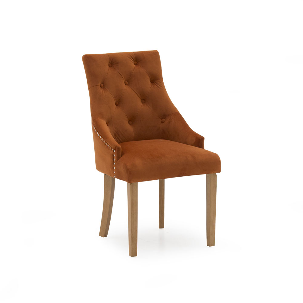 Hera Dining Chair Pumpkin