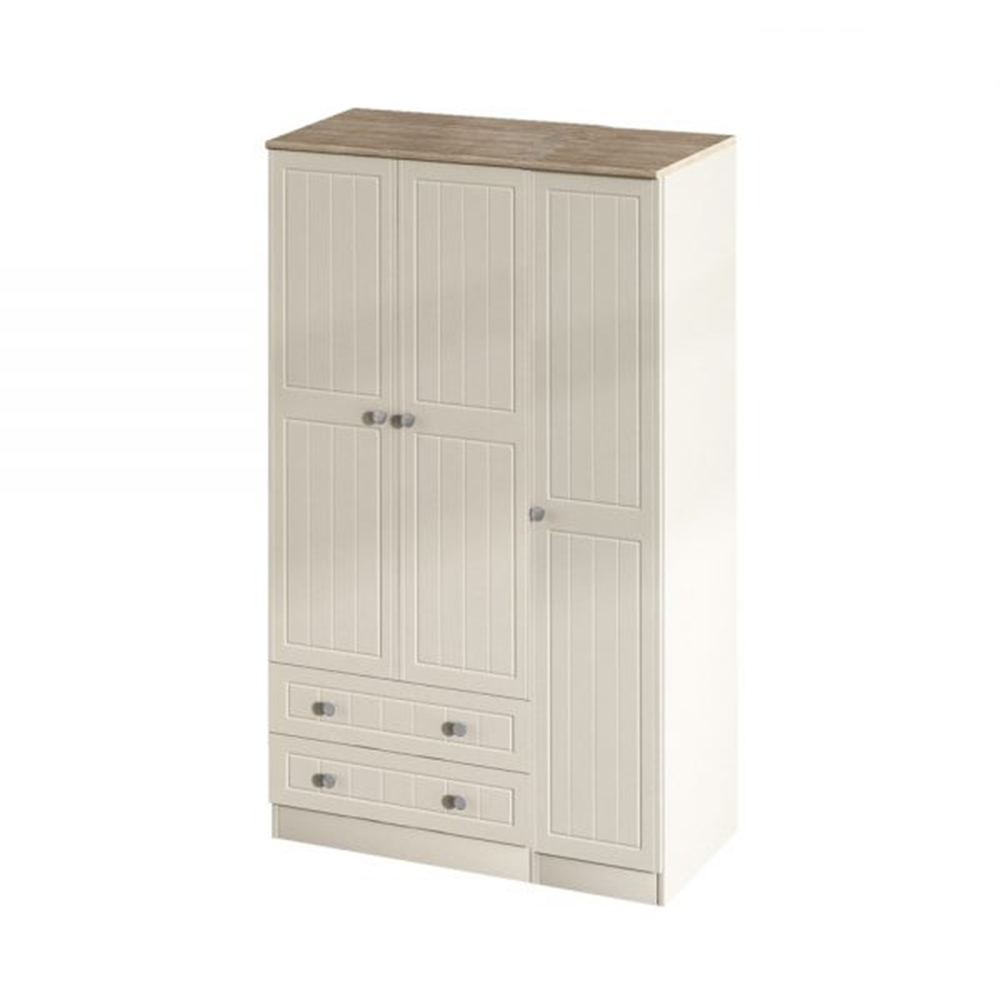 Verona Triple 2 Drawer Robe