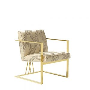 Hailey Accent Chair Cream