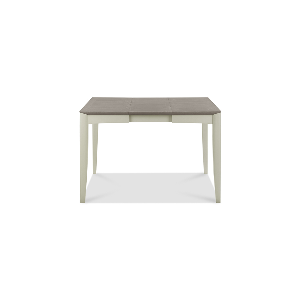 Burnham 2-4 Person Extending Table Grey Washed Oak & Sofe Grey