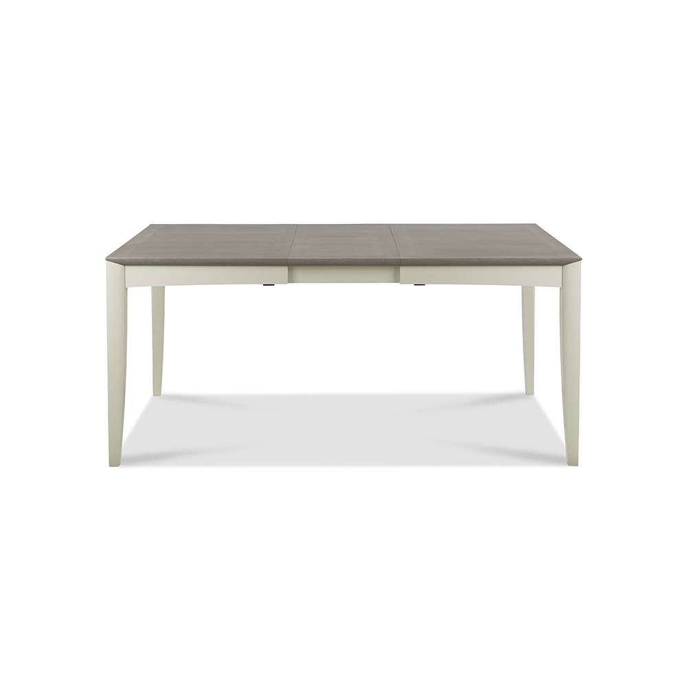 Burnham 4-6 Person Extending Table Grey Washed Oak & Soft Grey