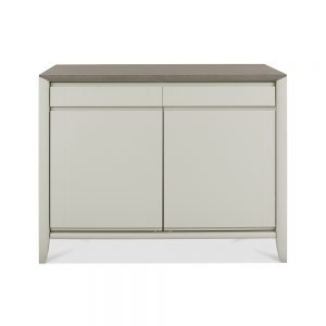 Burnham Sideboard Grey Washed Oak & Soft Grey