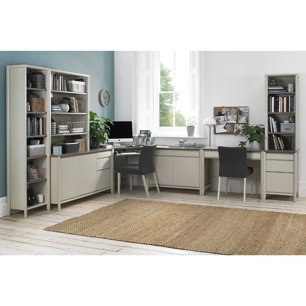 Burnham Top Unit Grey Washed Oak & Soft Grey