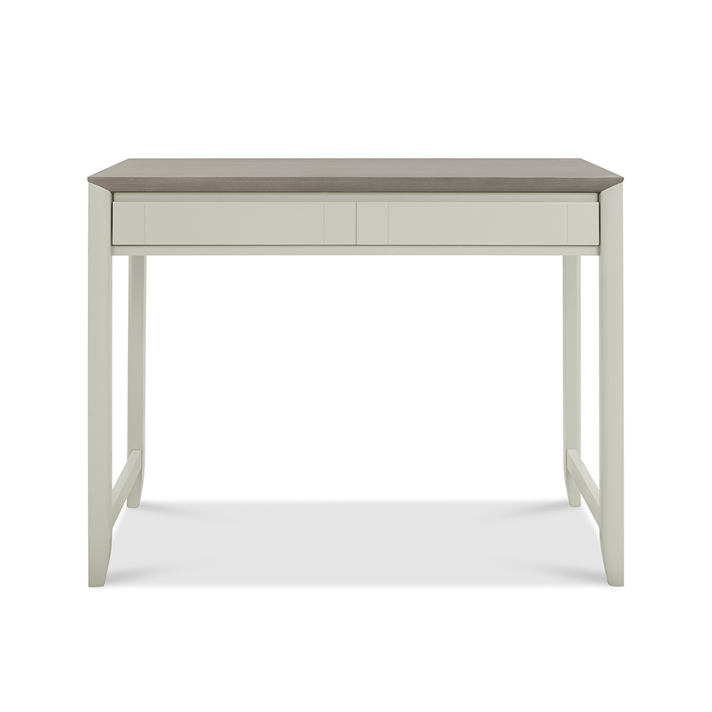 Burnham Desk Grey Washed & Soft Grey