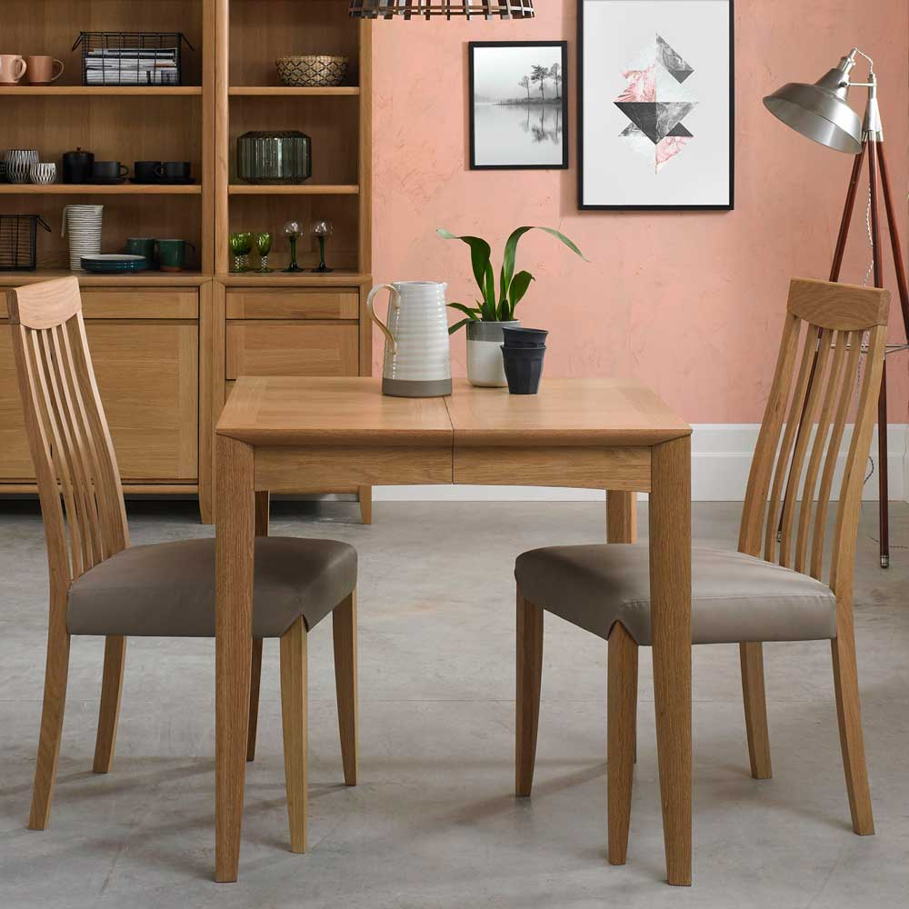 Burnham 2-4 Person Extending Table Oak