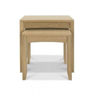 Burnham Nest Of Tables Oak