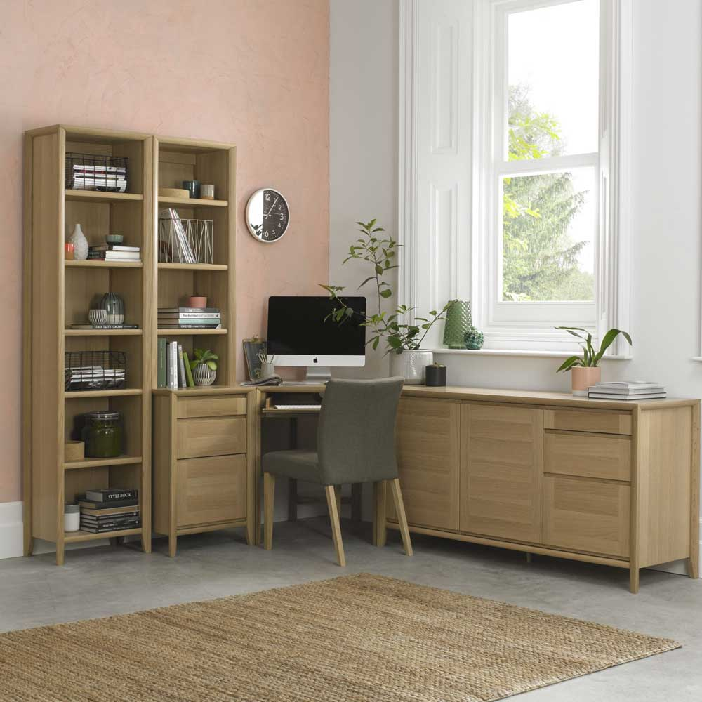 Burnham Large Sideboard Oak