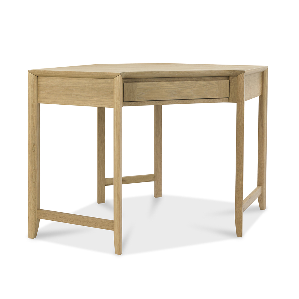 Burnham Corner Desk Oak