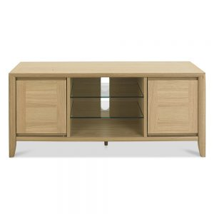 Burnham Entertainment Unit Oak