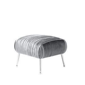 Aaliyah Stool Charcoal