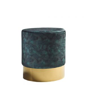 Elle Stool Peacock & Gold