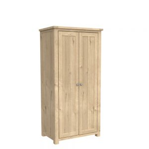 Brittany Double Wardrobe Oak