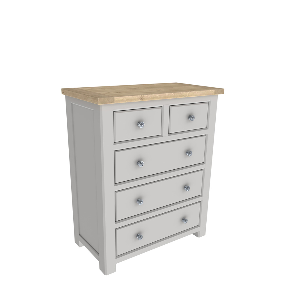 Brittany 2+3 Drawer Chest Painted