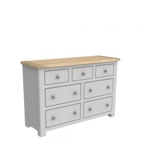 Brittany 7 Drawer Wide Chest Painted