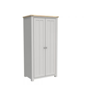 Brittany Double Wardrobe Painted