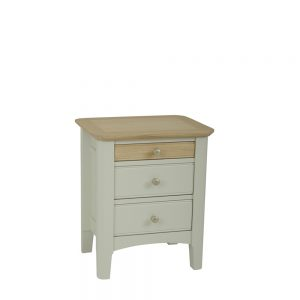 Ariana 3 Drawer Bedside