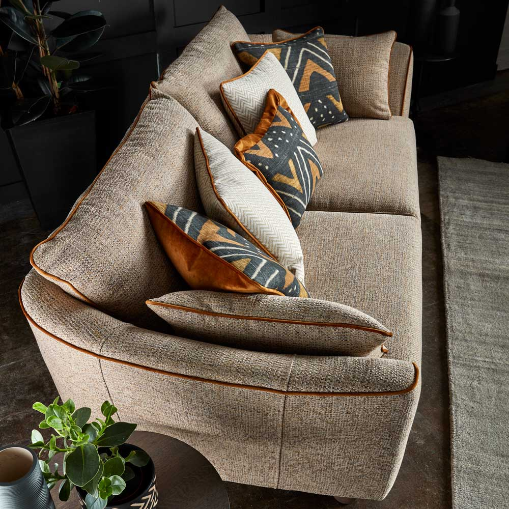 Mixing style and comfort isn't always easy although we think we've found the one with the Aztec!