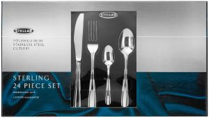 Stellar 24 Piece Sterling  Cutlery Set