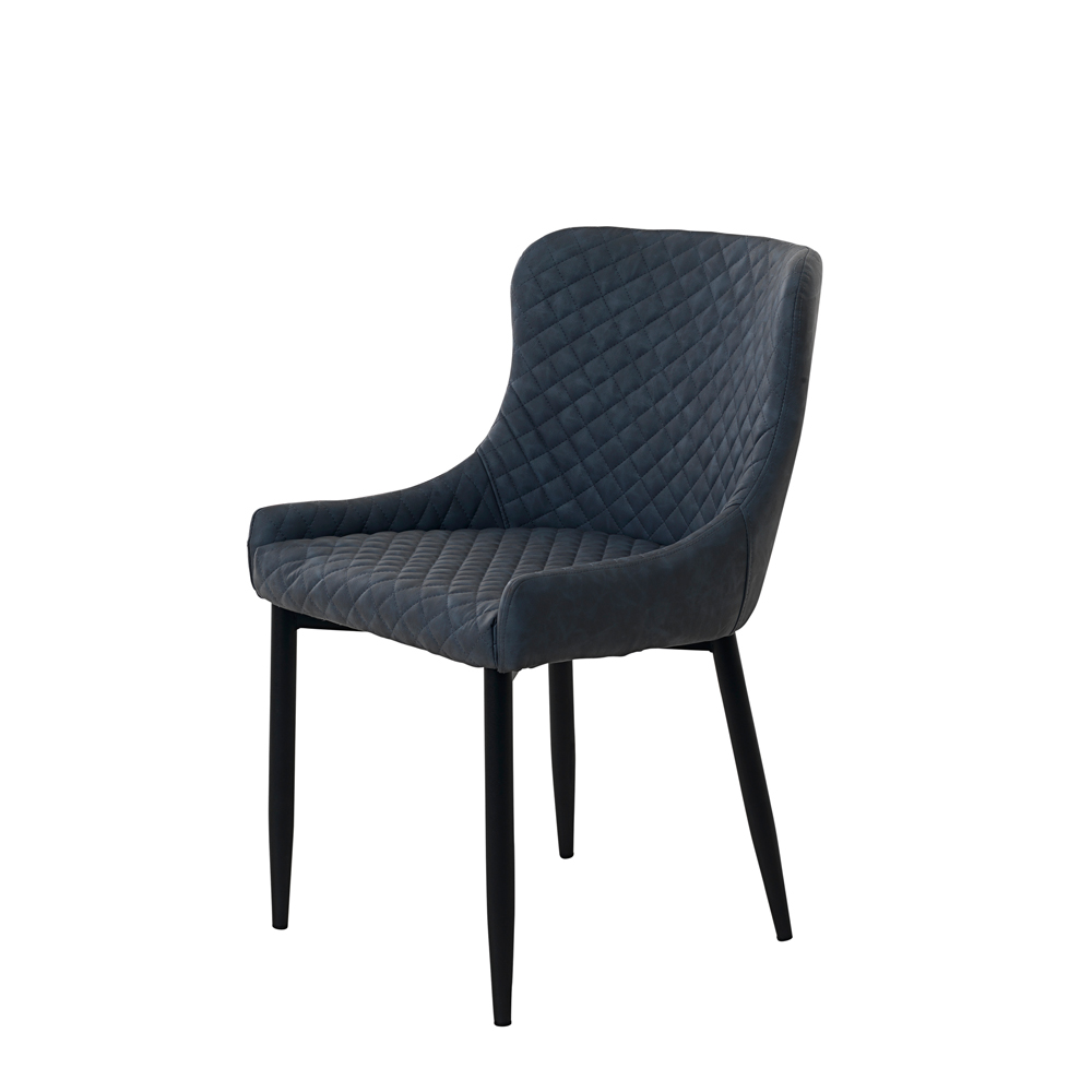 ONTARIO OTT02 DINING CHAIR GREY PU