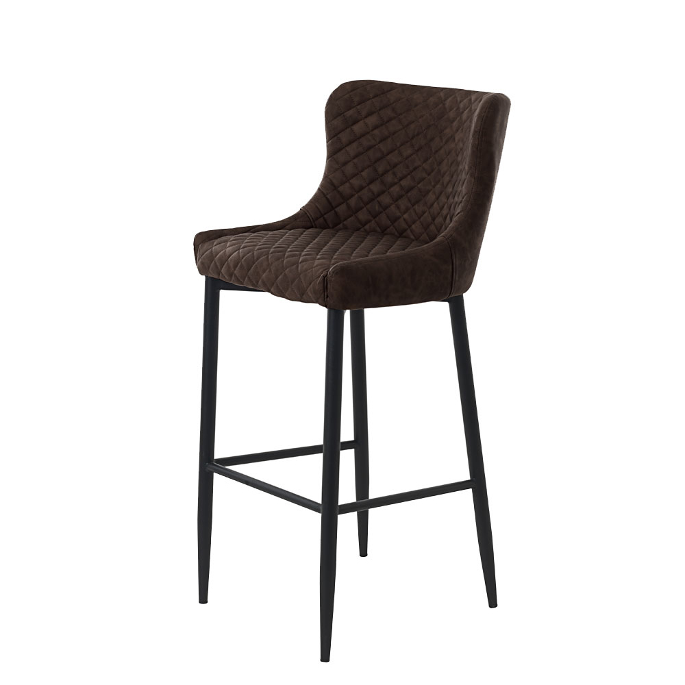 ONTARIO OTT06 BAR STOOL BROWN PU