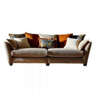 Aztec 3 Seater Pillow Back Sofa