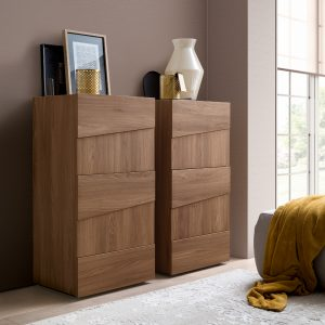 Milan Walnut Tallboy